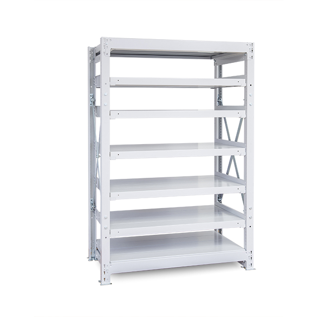 1000kg/段 重量スチール棚 高さ2100 x 棚板7枚(有効6段)
