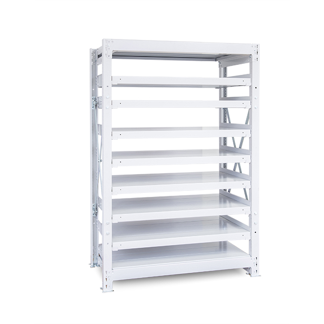 1000kg/段 重量スチール棚 高さ2100 x 棚板9枚(有効8段)