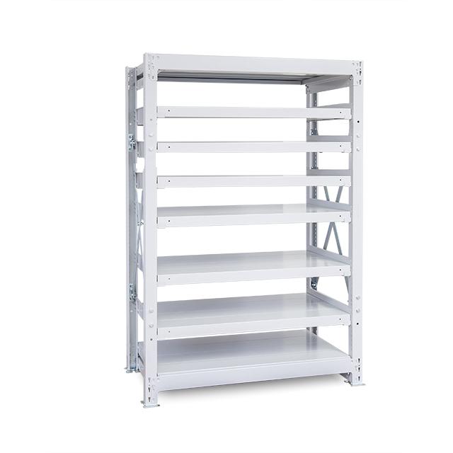 1000kg/段 重量スチール棚 高さ2400 x 棚板8枚(有効7段)