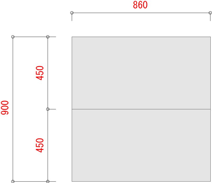 BL300-棚板寸法W900XD900