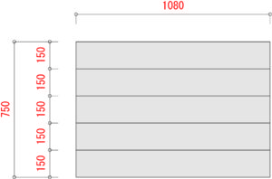 BO1000-棚板寸法W1200xD750