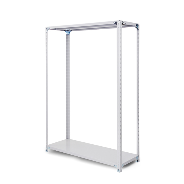 100kg/段 軽量ボルト式棚 高さ1200 x 棚板2枚(有効1段)
