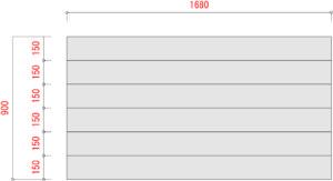 BO1000-棚板寸法W1800xD900