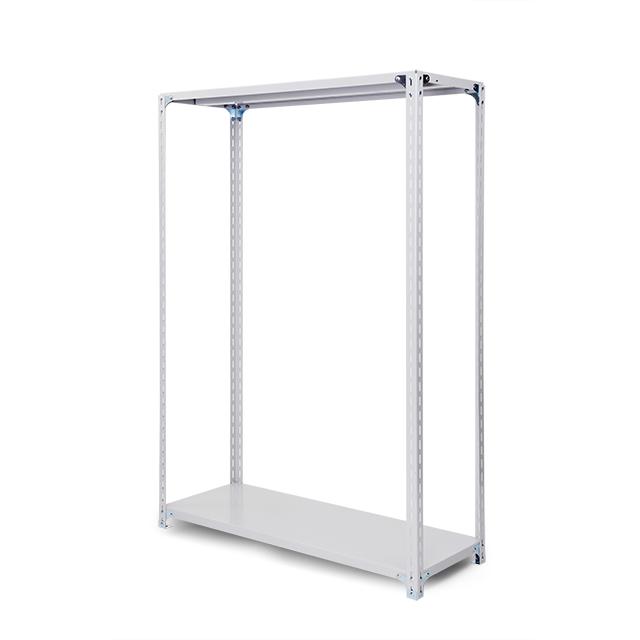 100kg/段 軽量ボルト式棚 高さ2400 x 棚板2枚(有効1段)