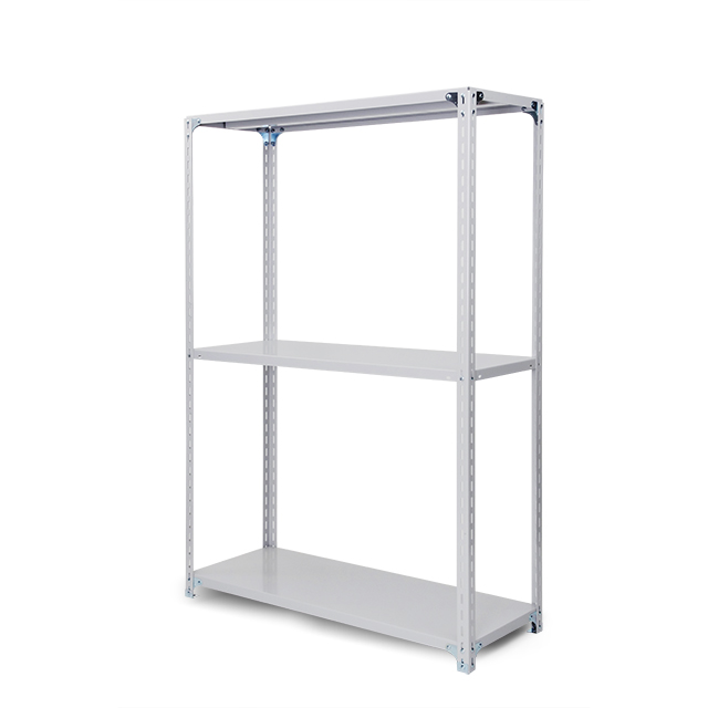 100kg/段 軽量ボルト式棚 高さ2400 x 棚板3枚(有効2段)