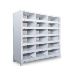 区分棚 横3 x 棚板6枚  高さ930 x 横幅900 x 奥行250
