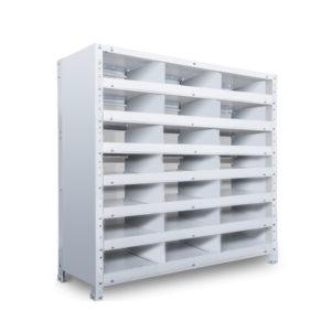 区分棚 横3 x 棚板7枚  高さ930 x 横幅900 x 奥行300