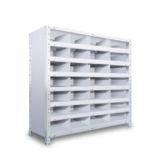区分棚 横4 x 棚板7枚  高さ930 x 横幅900 x 奥行250