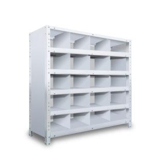 区分棚 横4 x 棚板5枚  高さ930 x 横幅900 x 奥行300