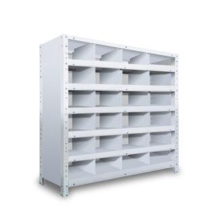 区分棚 横4 x 棚板6枚  高さ930 x 横幅900 x 奥行300