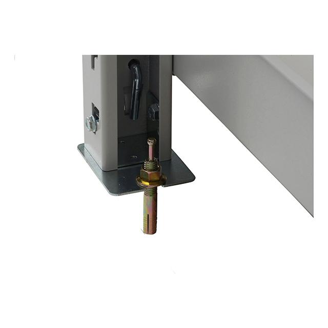 床固定用 転倒防止部材(中重量ボルトレス棚 BL500)4個セット