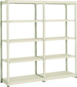 業務用スチールラック 書架と物品棚②