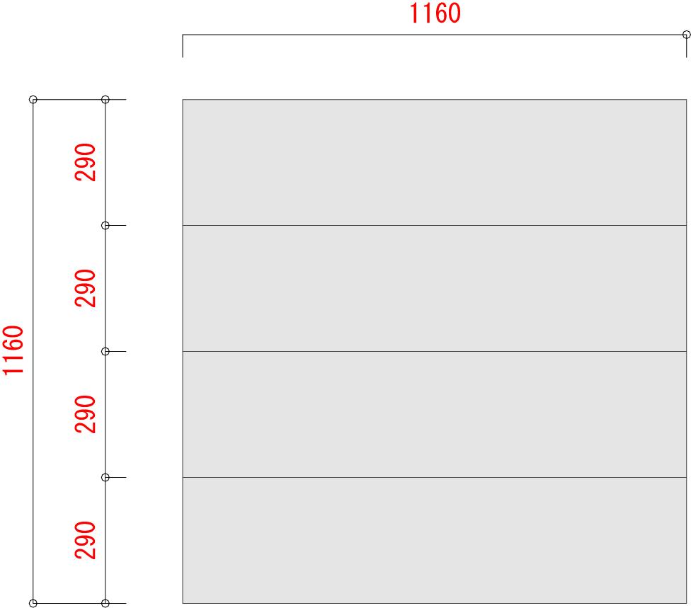 BO300-棚板寸法W1200XD1200