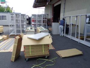 業務用スチールラック 軽量ボルト式ラックを現地組立させていただきました@埼玉県川越市