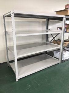 業務用スチールラック 中重量棚を現地組立させていただきました@神奈川県横浜市