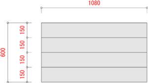 BO1000-棚板寸法W1200xD600