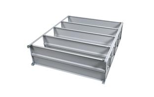 業務用スチールラックボルト式棚組立step03